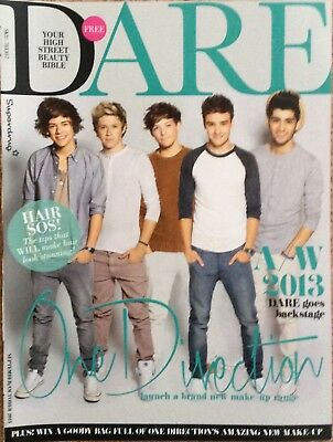 ONE DIRECTION UK Dare Magazine Clipping Oct 2013 1D Zayn Malik Styles Our Moment