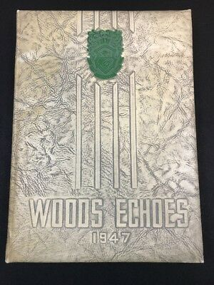 1947 Williams Woods Echoes College For Women Yearbook Fulton Missouri