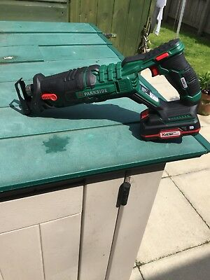 PARKSIDE® Cordless Saber Saw PSSA 20-Li A1 With Battery And Charger
