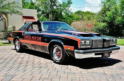 Oldsmobile Cutlass Supreme Pace Car Tribute Stunning T-Tops 455 HO 1977 Cutlass Amazing Restoration 455 HO w/ Factory Air, Bucket Seats, T-Tops