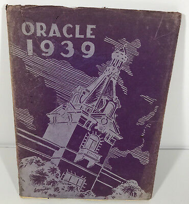 1939 Lafayette High School Oracle Yearbook
