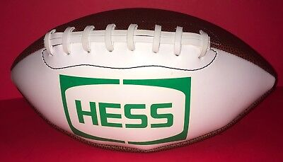 Brand New Hess Gas Station Football Never Used Or Inflated Collectors Item Rare!