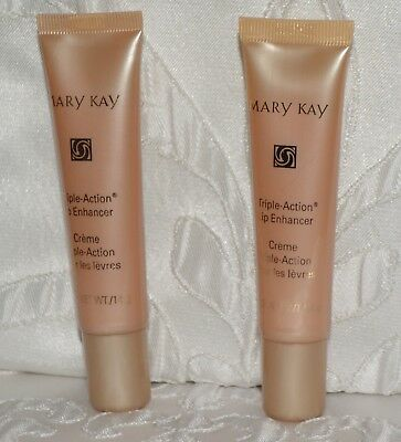 2 Mary Kay TRIPLE LIP ENHANCER Set of TWO New Old Stock with No Box