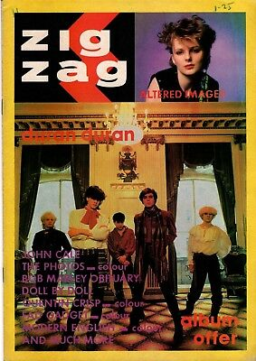 Zigzag Magazine - June 1981 (#114) - Duran Duran, Altered Images, Bob Marley