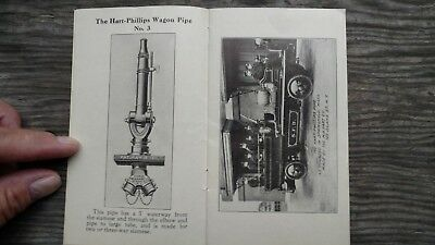 RARE M. H. Hart Co Wagon Pipe Catalog Fire Equipment MINT