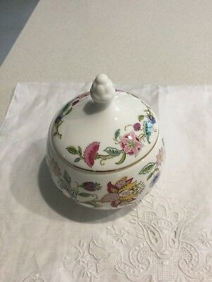Minton Haddon Hall Covered Sugar/Trinket Bowl & other Pieces