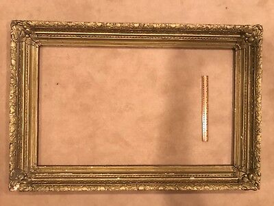 Antique 36x22 Late 19th Century American Picture Frame