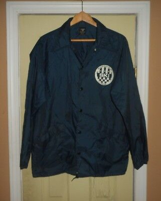 Mens Vintage Indianapolis Ski Club Nylon Jacket*Sz - Lg*Lots Of Pics*Usa Made*