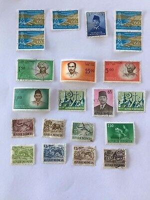 Indonesia - Used Stamps