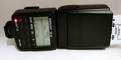 Nikon SB28 Speedlight: Hardly USED:  in exceptional conditional: no wear / tear