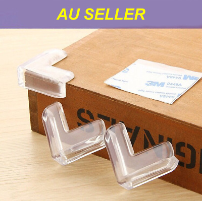 12X Baby Child Table Corner Protectors Safety Desk Edge Cover Cushion