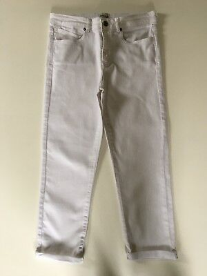 Gorgeous White Stuff White Cropped Jeans Size 10