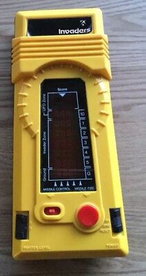 Invaders 1981 handheld electronic game
