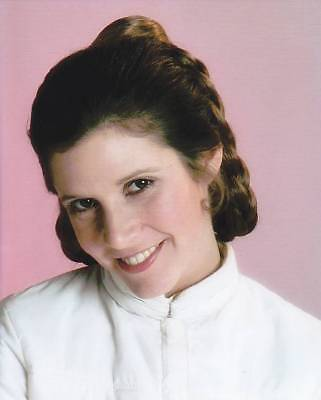 """10"""" x 8"""" Unsigned photo of Carrie Fisher - Princess Leia - Star Wars N147 - Sale"""