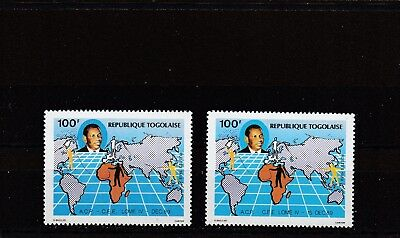 a117 - TOGO - SG2068-2069 MNH 1989 4th LOME CONVENTION