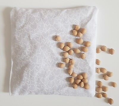 * Natural Cherry Stone Thermal Pillow Heat Pad * Period / Colic Pain Migraine *