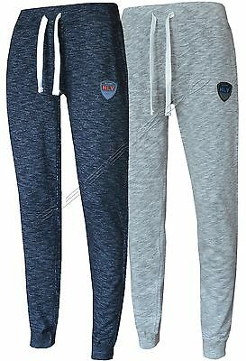 Mens HLY Slim Fit Tracksuit Bottoms Skinny Jogging Joggers Sweat Pants Trousers