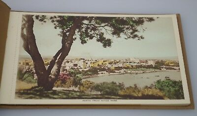 SIX VINTAGE POSTCARDS VIEWS OF PERTH WESTERN AUSTRALIA HAND COLOURED 1930s