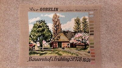 Completed Wool Tapestry by Gobelin