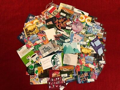 120+ Starbucks Gift Cards Lot Thailand Corporate Uk City Htf