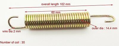 180x18x3mm Expansion Extension Tension springs DIY metal Die stand mechanic
