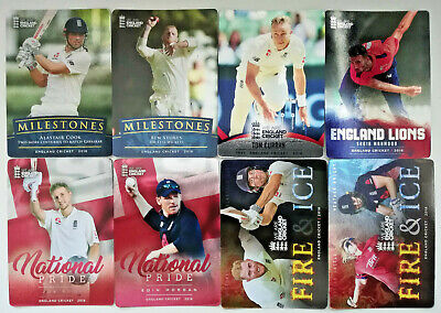 England Cricket 2018 ECB trading cards Tap n play SILVER FOIL chase set 1 -100