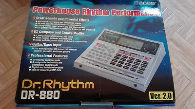 Drum Computer Boss DR-880, Drum Machine,  Rhythmus Maschine