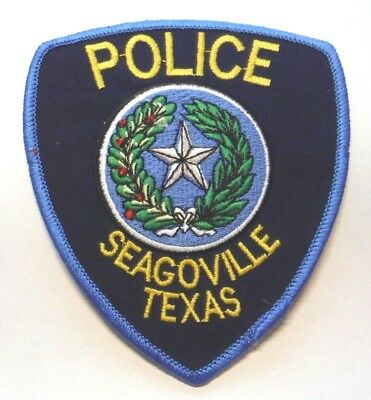 Seagoville Texas Police Patch Unused