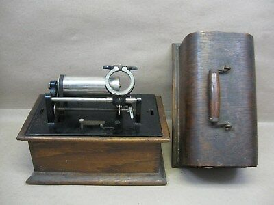 Columbia Graphophone Cylinder Player 2-4m Works Parts Repair Case for Restore