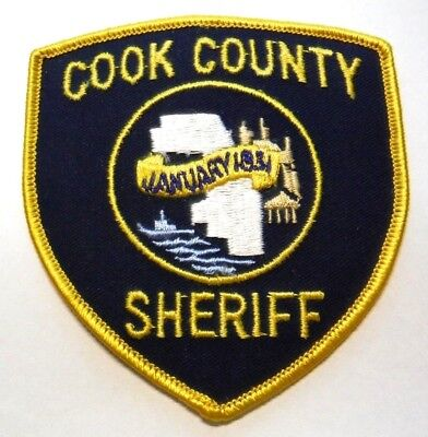 Cook County Illinois Sheriff Patch Unused
