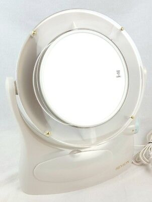 Vintage Revlon Rv 961 Dual Sided, How To Replace Bulb In Revlon Makeup Mirror
