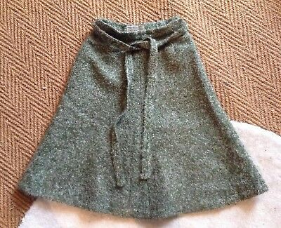 Jaeger Vintage A line Skirt Size 10 Super Quality Flecked Mohair/wool