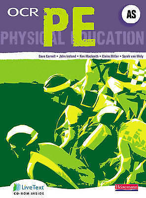OCR AS PE Student Book by Pearson Education Limited (Mixed media product, 2008)