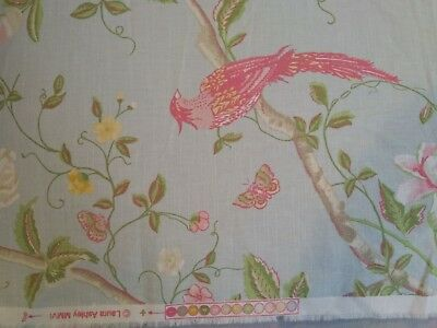 laura Ashley Summer Palace duck egg fabric