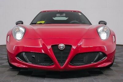 2015 Alfa Romeo 4C LAUNCH EDITION 2015 ALFA ROMERO 4C LAUNCH EDITION - #364 OF 500 MADE - FULL FACTORY WARRANTY