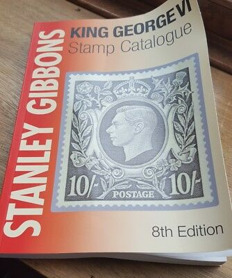 Stanley Gibbons King George Vi Stamp Catalogue 8Th Edition -Very Good