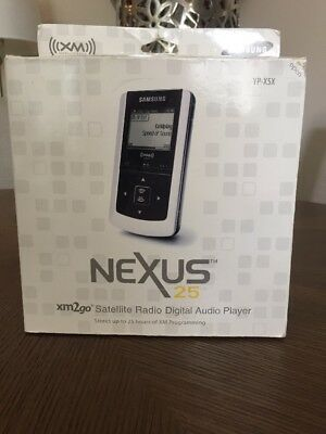 Samsung Nexus 25 XM2GO XM Satellite Radio MP3 Player NEW 160+ Sports Channels