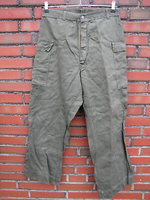 Field Trouser, Herringbone Twill Feldhose,13 Star Button US Army WWII WK2 Korea