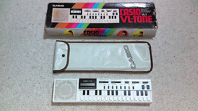 CASIO VL-TONE VL-1 ELECTRONIC KEYBOARD SYNTHESIZER CALCULATOR / VINTAGE / 1980s