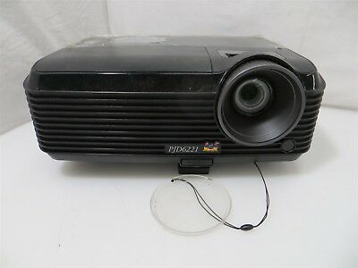 Viewsonic PJD6221 Digital Laser Projector DLP - Untested | Parts or Repair