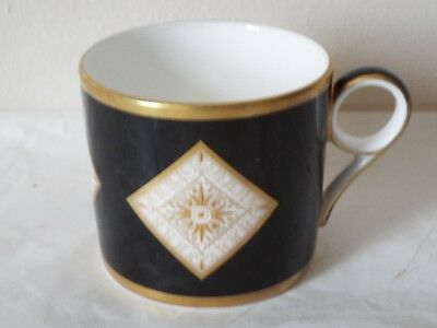 Minton Fine Bone China Athena Coppers Collection COFFEE CAN Gold On White RARE