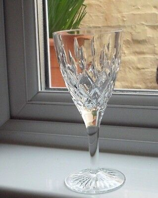 "Stuart Crystal Tewksbury wine glass  6 7/8"" tall"
