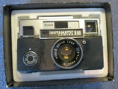 Vintage Kodak X-90 Instamatic Camera