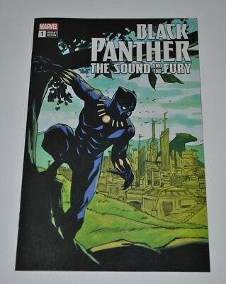 Black Panther Sound and The Fury #1 eBay Exclusive Sanford Greene Variant NM/M