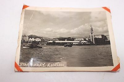 Old photograph Hong Kong Star ferry Kowloon  8x6cm Vintage photography (22)