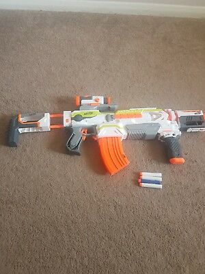 Nerf N-Strike Modulus ECS 10 Blaster Gun and Attachments
