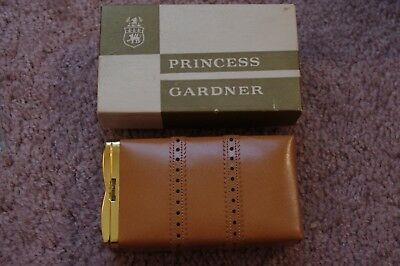 Vintage Princess Gardner Cigarette Case New In Box Unused Great Condition