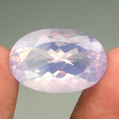 Clean 25.15ct 100%natural Unheated Purple Pearl Amethyst Look Like Opal Bolivia