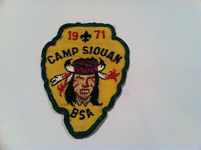Boy Scout Old Dominion Area Council Camp Siouan 1971 Patch