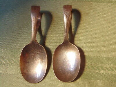 Two Infant Or Invalid Spoons, Silverplate,community,oneida.